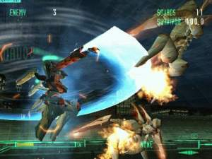 Pantallazo de Zone of the Enders para PlayStation 2