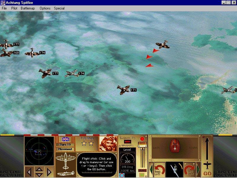 Imagen del juego Achtung Spitfire