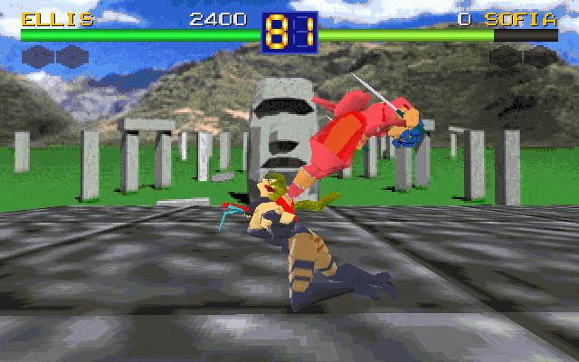 Imagen del juego Battle Arena Toshinden