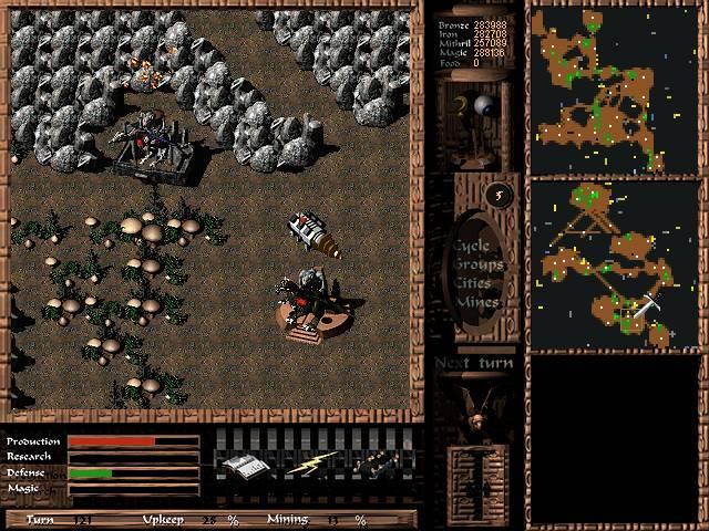 Imagen del juego Cavewars
