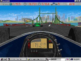 Imagen del juego Al Unser, Jr. Arcade Racing
