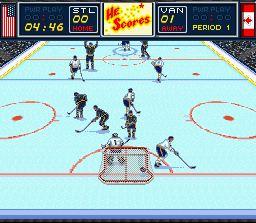 Imagen del juego Brett Hull Hockey 95