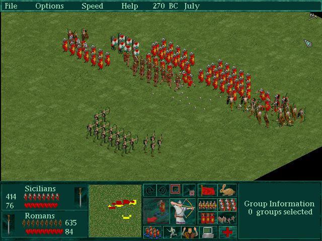 Imagen del juego Caesar Ii
