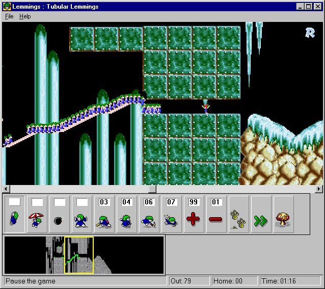 Imagen del juego Lemmings For Windows