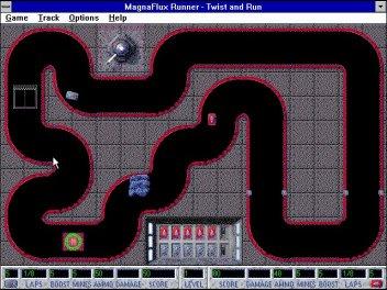 Imagen del juego Magnaflux Runner