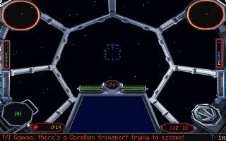 Imagen del juego Star Wars: Tie Fighter