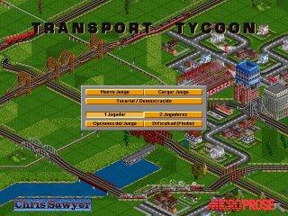 Imagen del juego Transport Tycoon