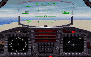 Imagen del juego F-15 Strike Eagle Iii