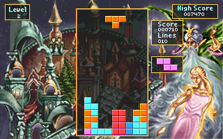 Imagen del juego Tetris Classic