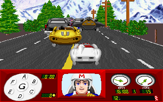 Imagen del juego Speed Racer In The Challenge Of Racer X