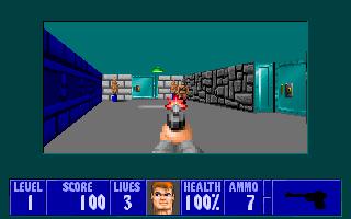 Imagen del juego Wolfenstein 3d