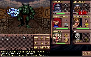 Imagen del juego Advanced Dungeons And Dragons: Eye Of The Beholder Iii — Assault On Myth Drannor