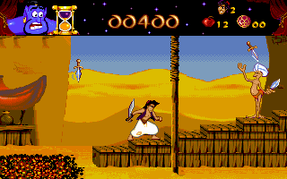 Imagen del juego Disney's Aladdin