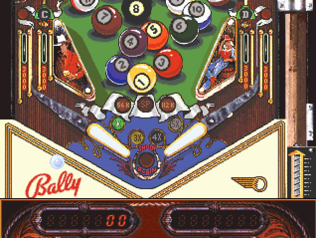 Imagen del juego Eight Ball Deluxe