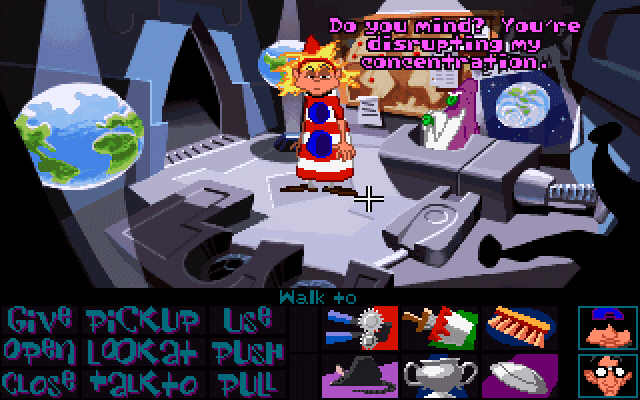 Imagen del juego Maniac Mansion: Day Of The Tentacle
