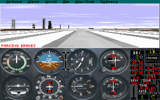 Imagen del juego Microsoft Flight Simulator 5.0