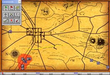 Imagen del juego Gettysburg For Windows