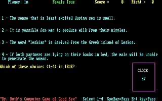 Imagen del juego Dr. Ruth's Game Of Good Sex