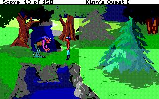 Imagen del juego King's Quest: Quest For The Crown