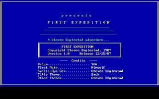 Imagen del juego First Expedition