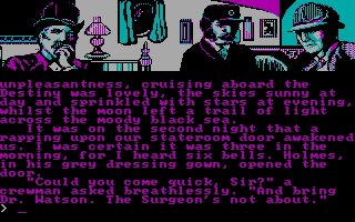 Imagen del juego Sherlock Holmes In another Bow