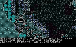 Imagen del juego Roadwar 2000