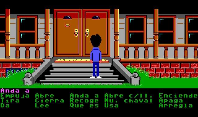 Imagen del juego Maniac Mansion