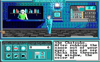 Imagen del juego Neuromancer