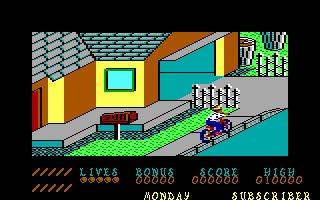 Imagen del juego Paperboy