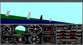Imagen del juego Microsoft Flight Simulator 3.0
