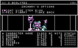 Imagen del juego Wizardry V: Heart Of The Maelstrom