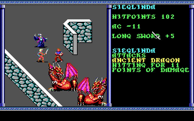 Imagen del juego Advanced Dungeons And Dragons: Secret Of The Silver Blades