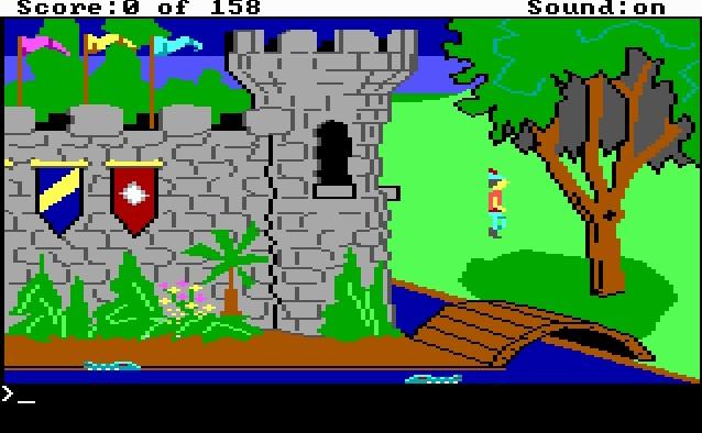 Imagen del juego King's Quest I: Quest For The Crown — Ega