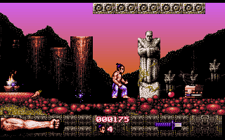 Imagen del juego First Samurai
