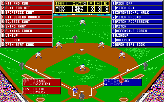 Imagen del juego Micro League Baseball: The Manager's Challenge