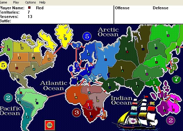 Imagen del juego Risk: The World Conquest Game (1991)