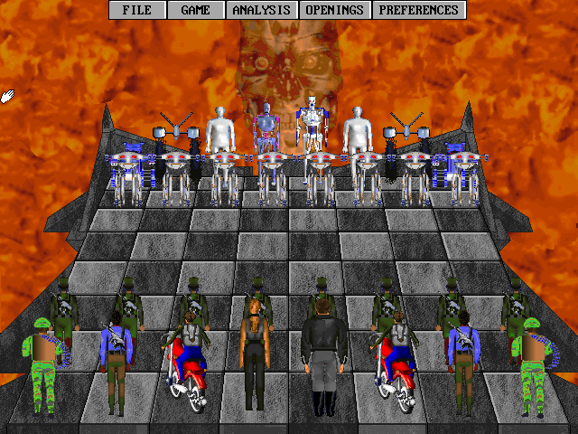 Imagen del juego Terminator 2: Judgment Day – Chess Wars