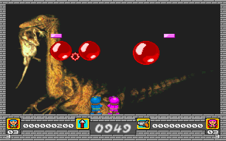 Imagen del juego Dinosaur Balls (a.k.a. Pang)