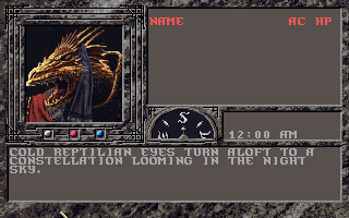 Imagen del juego Advanced Dungeons And Dragons: Dark Queen Of Krynn