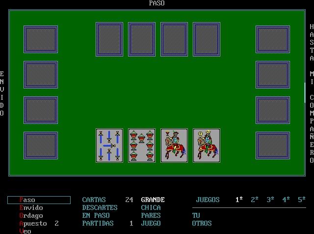 Imagen del juego Ordago