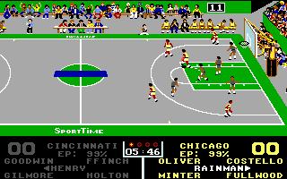 Imagen del juego Omni-play Basketball (a.k.a. Magic Johnson's Mvp)