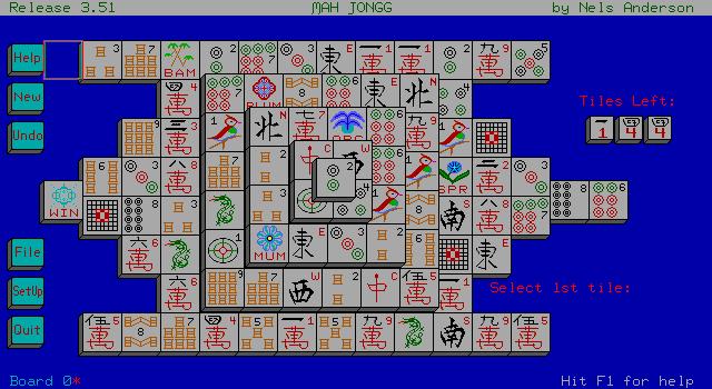 Imagen del juego Mah Jongg