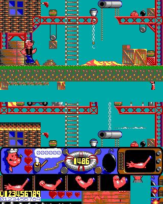 Imagen del juego Popeye 2