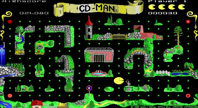 Imagen del juego Cd-man