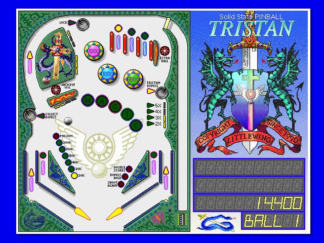 Imagen del juego Tristan Pinball