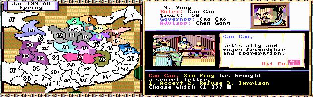 Imagen del juego Romance Of The Three Kingdoms Ii