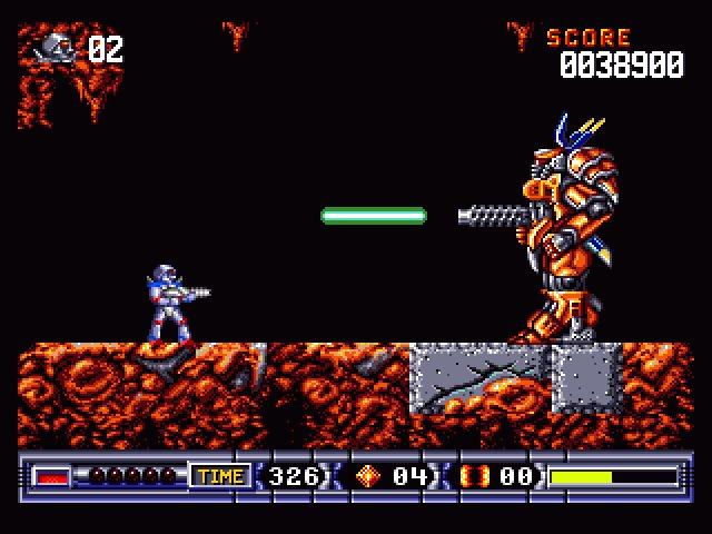 Imagen del juego Turrican Ii