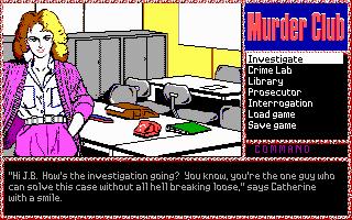 Imagen del juego J.b. Harold In: Murder Club