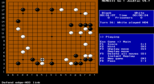 Imagen del juego Nemesis: The Go Master
