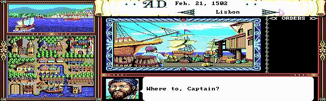 Imagen del juego Uncharted Waters 1